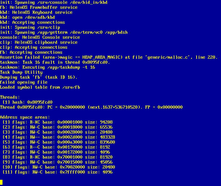 337 ppc32 fb server failed assert in memory allocator helenos rh helenos org